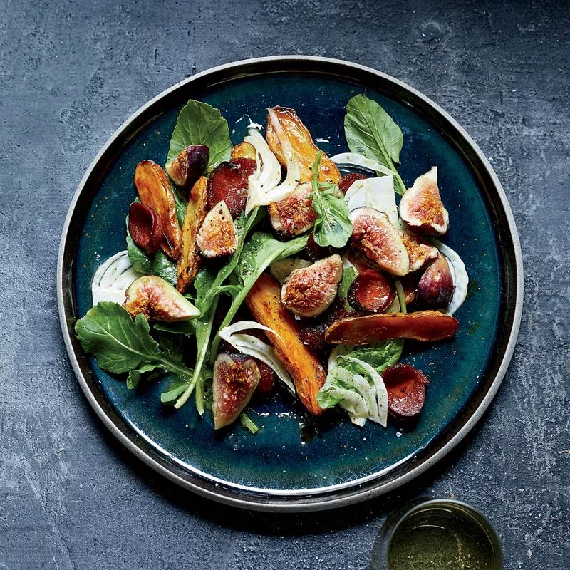Chorizo and Fig Salad